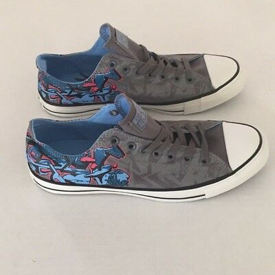 Converse 141654F CT OX  Color Charcoal Men size 10 Women size 12 Free Shipping