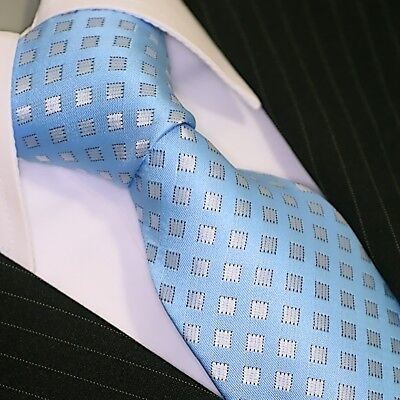 BINDER de LUXE KRAWATTE tie Schlips corbata cravatte Dassen Krawatten 321 Blau Tie Krawatte Krawatten