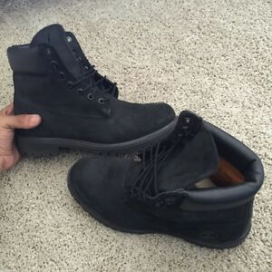 Looking for black suede timberlands