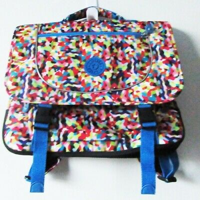 Kipling School Bag Backpack in Multi Splatter
