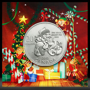 $20 for $20 SANTA CLAUS SILVER COIN