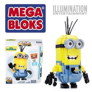NEW MEGA BLOKS BUILD A MINION SET 776PC KID'S - BOY'S - GIRL'S TOYS BLOCKS AGES 5+ 109619370