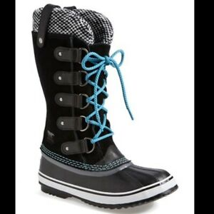 Beautiful SOREL Joan of Arctic Winter Boots–Limited Edition Knit