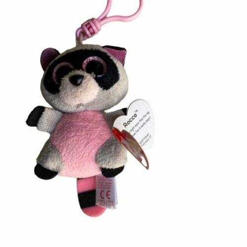 NWT Rocco Raccoon Beanie Baby