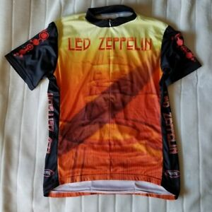 Gilet Vélo  ★ Led Zeppelin ★ Cycling Jersey  - - Medium