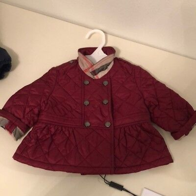 Burberry Quilted Infant Jacket NWT