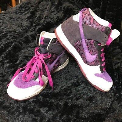 - Womens Nike 6.0 Dunk High Purple Blueprint