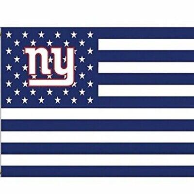 New York Giants 3x5 Foot American Flag Banner New