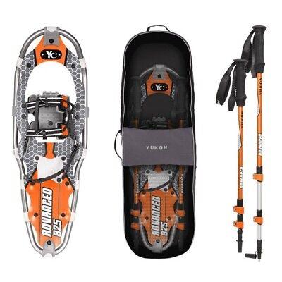 Yukon Charlie's 80-3002K Advanced Snowshoe Adventure Kit 825 Orange