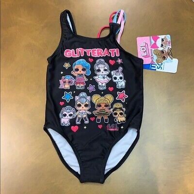 Girls LOL Doll Surprise Bikini Swimming Bandeau Summer Swimwear
