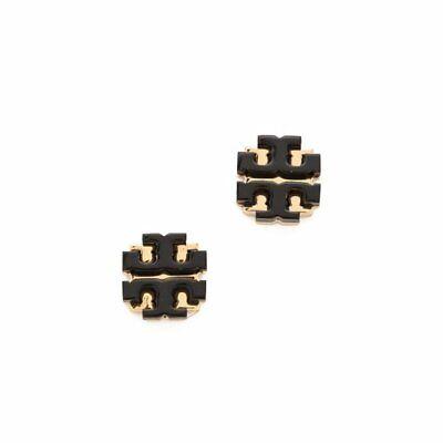 NWT Tory Burch Enamel large T Logo Stud Earring - MSRP $58.00