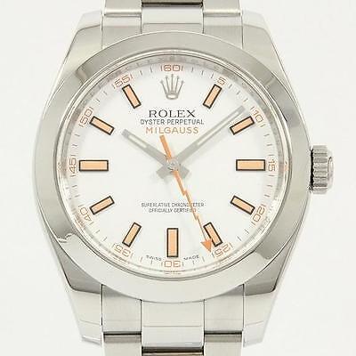 Authentic ROLEX 116400 Milgauss Automatic  #246-000-077-2648