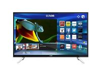 BRAND New LUXOR 55 inch Ultra HD 4K LED Smart TV with wifi, Miracast & Freeview Play