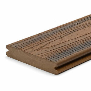 Trex Composite 'Spiced Rum' Deck Boards 16' (grooved)