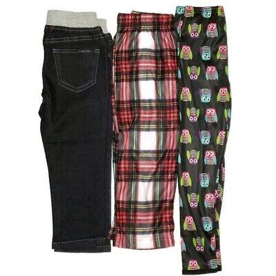Nautica Girls Sz 2t 3t 24 Months Leggings Jeans Pajama Bottoms Pants Lot Bundle