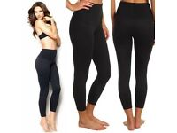 Branded body-contouring, size 2XL, unworn, black, very soft, £10 pair or £25 all 3 for quick sale