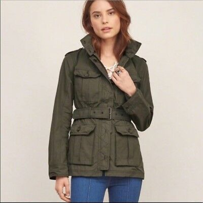 Abercrombie & Fitch Field Jacket Coat XS 0 2 (Worn Approx. 6 Times) for sale  Glenside