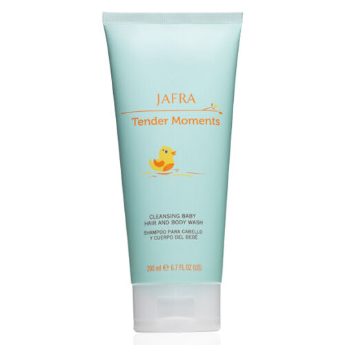 Jafra Tender Moments/ Cleansing Baby Hair and Body Wash.
