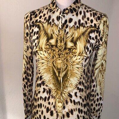 JUST CAVALLI blouse NWT