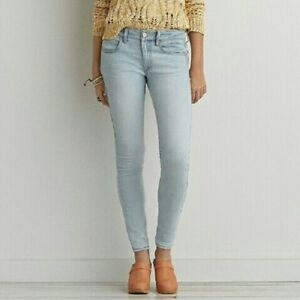 American Eagle Outfitters Jean/Jegging Super Stretch Light Wash