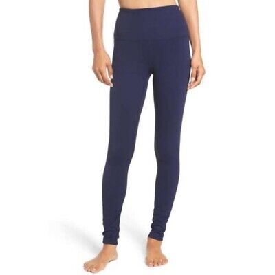 Zella Live In High Waisted Leggings in Navy Blue - Size S
