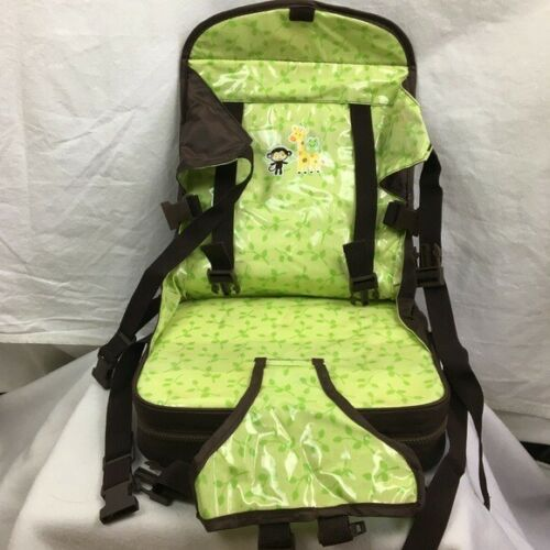 Carter's Brown & Green Portable Child Booster Seat