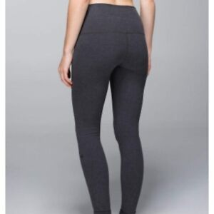 Lululemon Wunder Under Cotton High Waist Pants Size 12