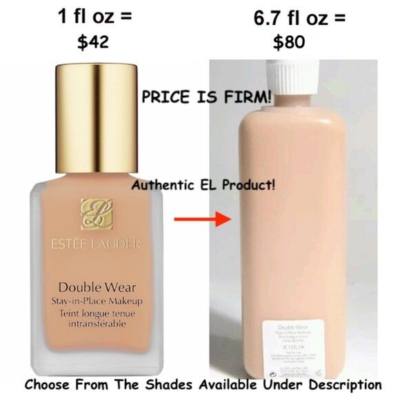 Estee Lauder Double Wear Stay-In-Place Makeup Foundation 100