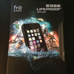 Lifeproof FRE Iphone 6/6S with lifetime warranty - Mint Conditon