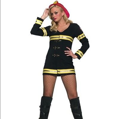 NEW Leg Avenue Hot Firefighter Sexy Costume Small/Medium High Quality