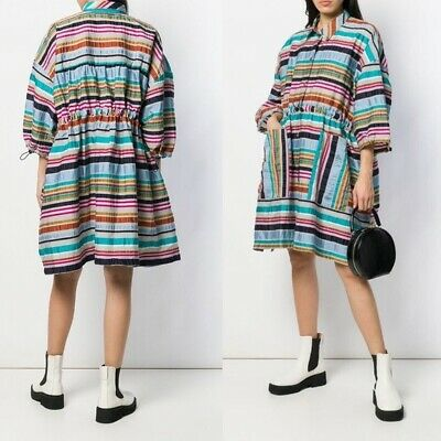 Henrik Vibskov Toggle Fastened Shirtdress Multi