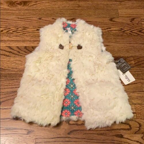 NEW Matilda Jane | Snow Queen Vest Reversible Sz 8