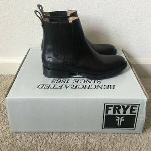 NEW FRYE Phillip Chelsea boots, black, 9 - 9.5