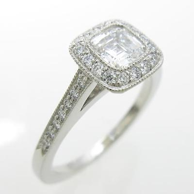Authentic Tiffany Legacy ring 0.50ct E IF EXCELLENT  #260-001-705-1491