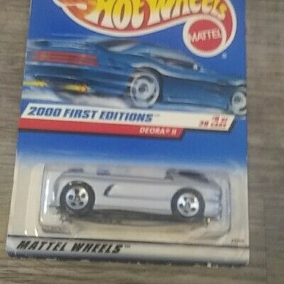 2000 hot wheels deora 2 with surfboards rare