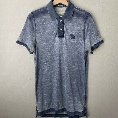 Abercrombie & Fitch Men's Muscle Polo - Medium