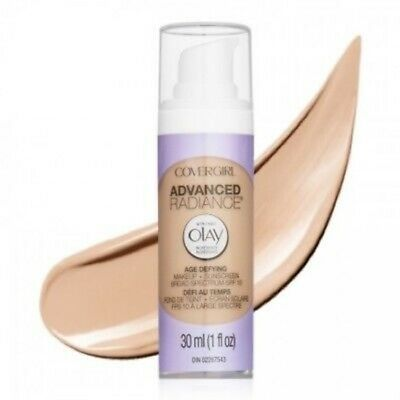 CoverGirl Advanced Radiance Liquid Makeup Foundation Pick Shade New Some Expired
