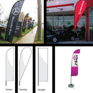 Advertising Flags & Flag Banners w/ Custom Graphics for Events