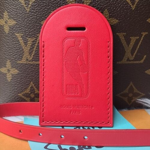 NEW UNUSED LOUIS VUITTON NBA RED LUGGAGE TAG