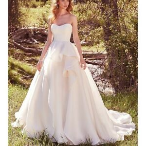 Maggie Sottero Gown with Rhinestone Belt