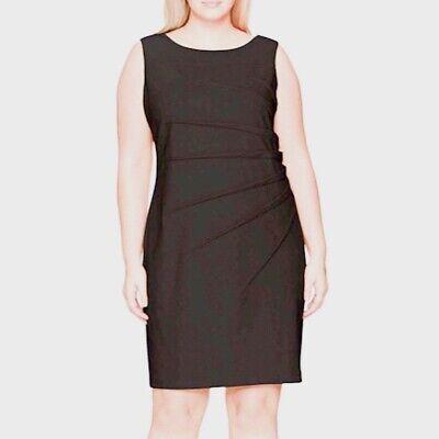 Calvin Klein Sleeveless Starburst Sheath Dress Size 20W