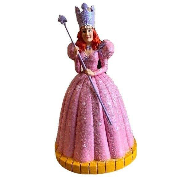 Glinda Good Witch Wand Wizard of Oz Figurine Turner Enesco 106622 vintage Pink