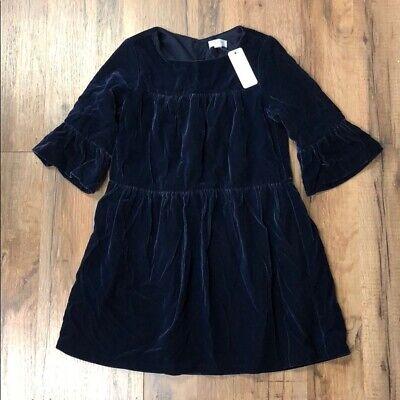Velvet Girl Dress (Gymboree Girl's Formal Winter Holiday Velvet Blue Dress)