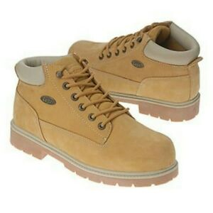 size 15 Lugz boots in tan