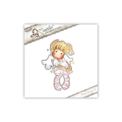 Magnolia Cling Rubber Stamp Dancing With Stars Tilda  New