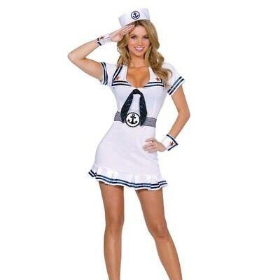 Cruise Cutie Costume - Cruise Cutie Sailor Women's Halloween Costume, Womens Cruise Ship Sailor Costume