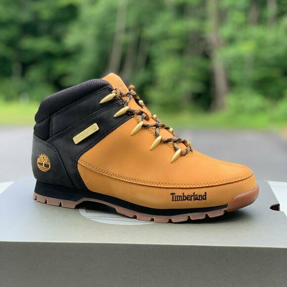 Autenticación Intolerable Cinemática  Timberland Euro Sprint Hiker Mens Leather Boots Shoes All Colors Sizes for  sale online | eBay