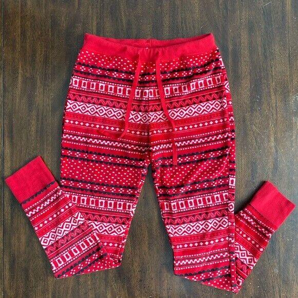 Xhilaration Red Pajama Pant Large Clothing, Shoes & Accessories