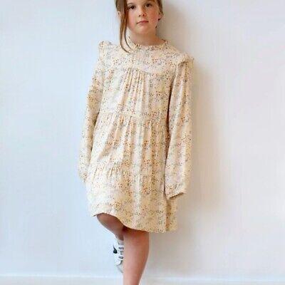 Bellerose size 14 girl pebbles floral prints tiered dress
