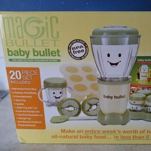 Magic Bullet The Original Baby Bullet 4-Cup Food Processor